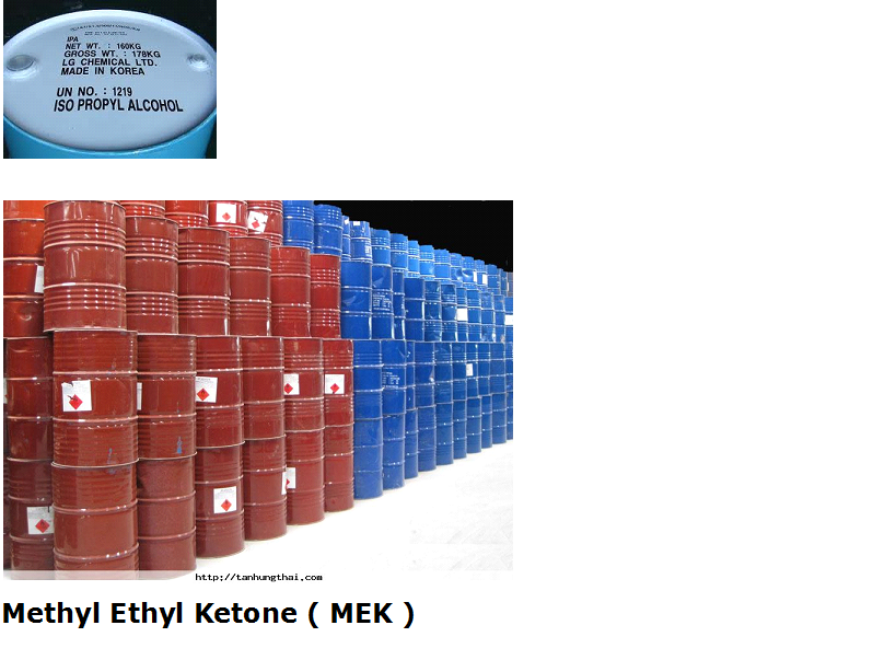 Methyl Ethyl Ketone ( MEK )